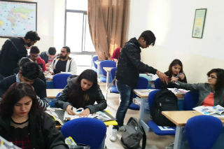 JIMS Rohini organised an activity on Attract to sell for PGDM-Retail Management students (batch 2018-20)