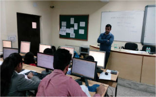 InvestoFin - Finance Club of JIMS organised NSE's certification in Financial Markets (NCFM) – Online Exam