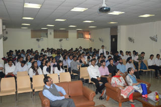 Finance Club of JIMS organised a session on NSE's certification in Financial Markets