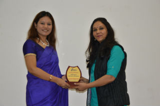 JIMS Rohini HR Club organised Branding contest - Design & Deliver