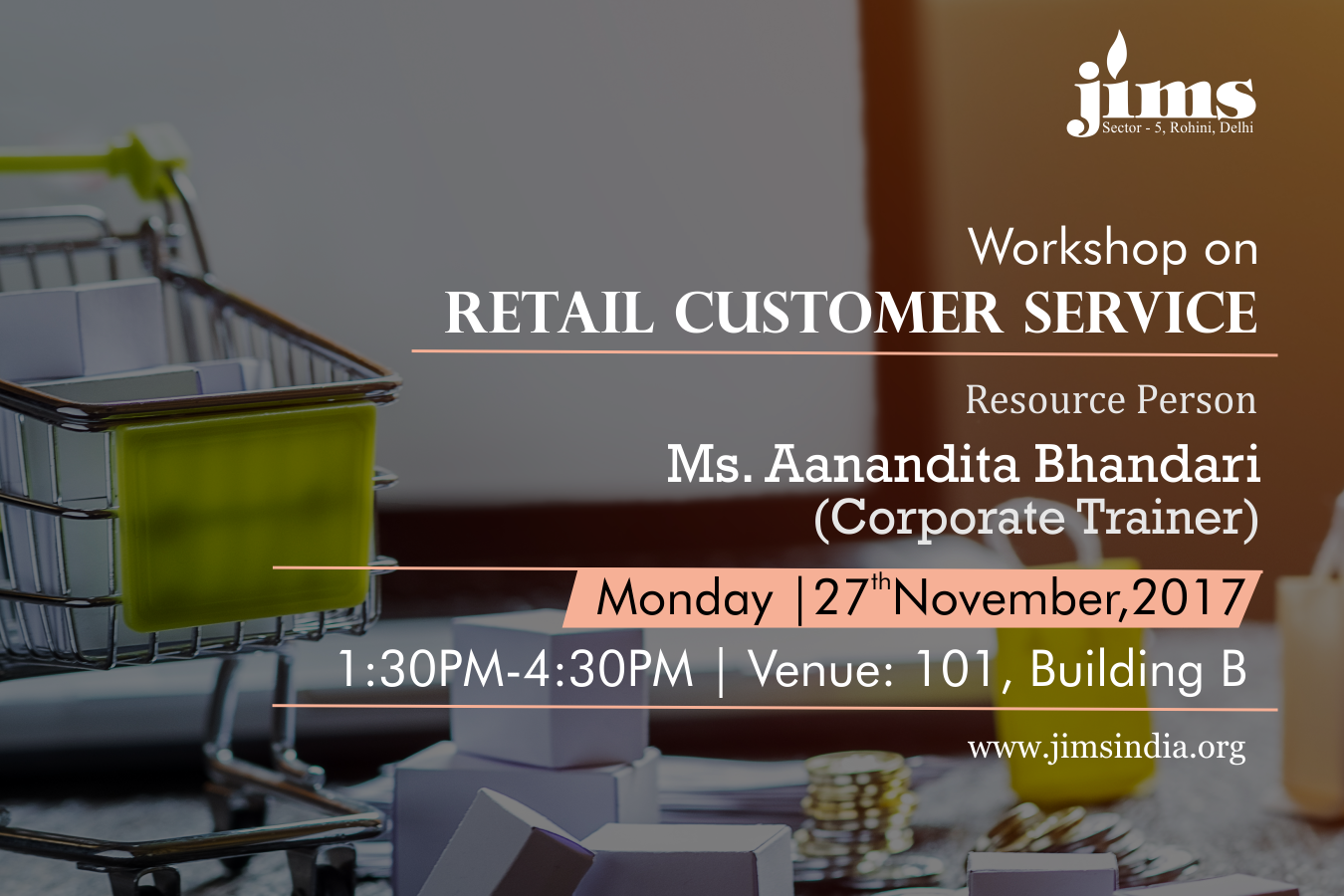 Workshop on Retail Customer Service for PGDM-RM Batch(2017-19)