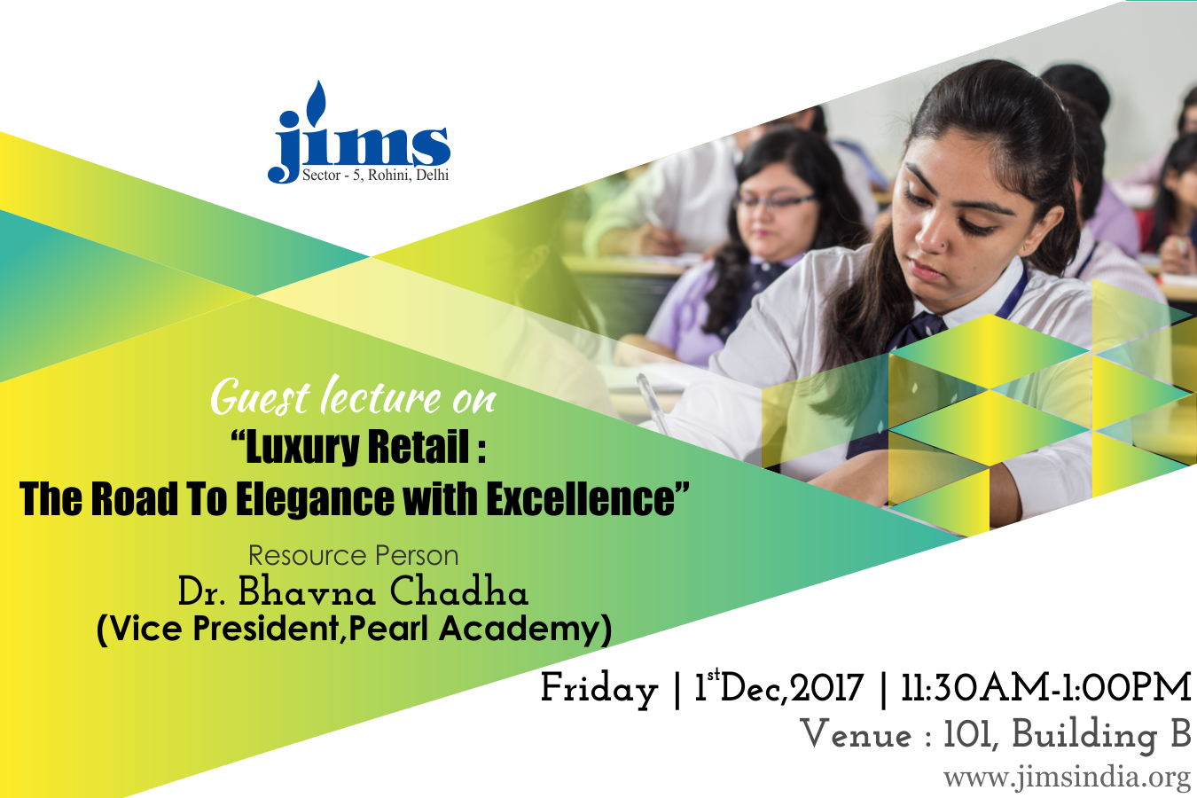 Guest Lecture on Luxury Retail : The Road To Elegance with Excellence