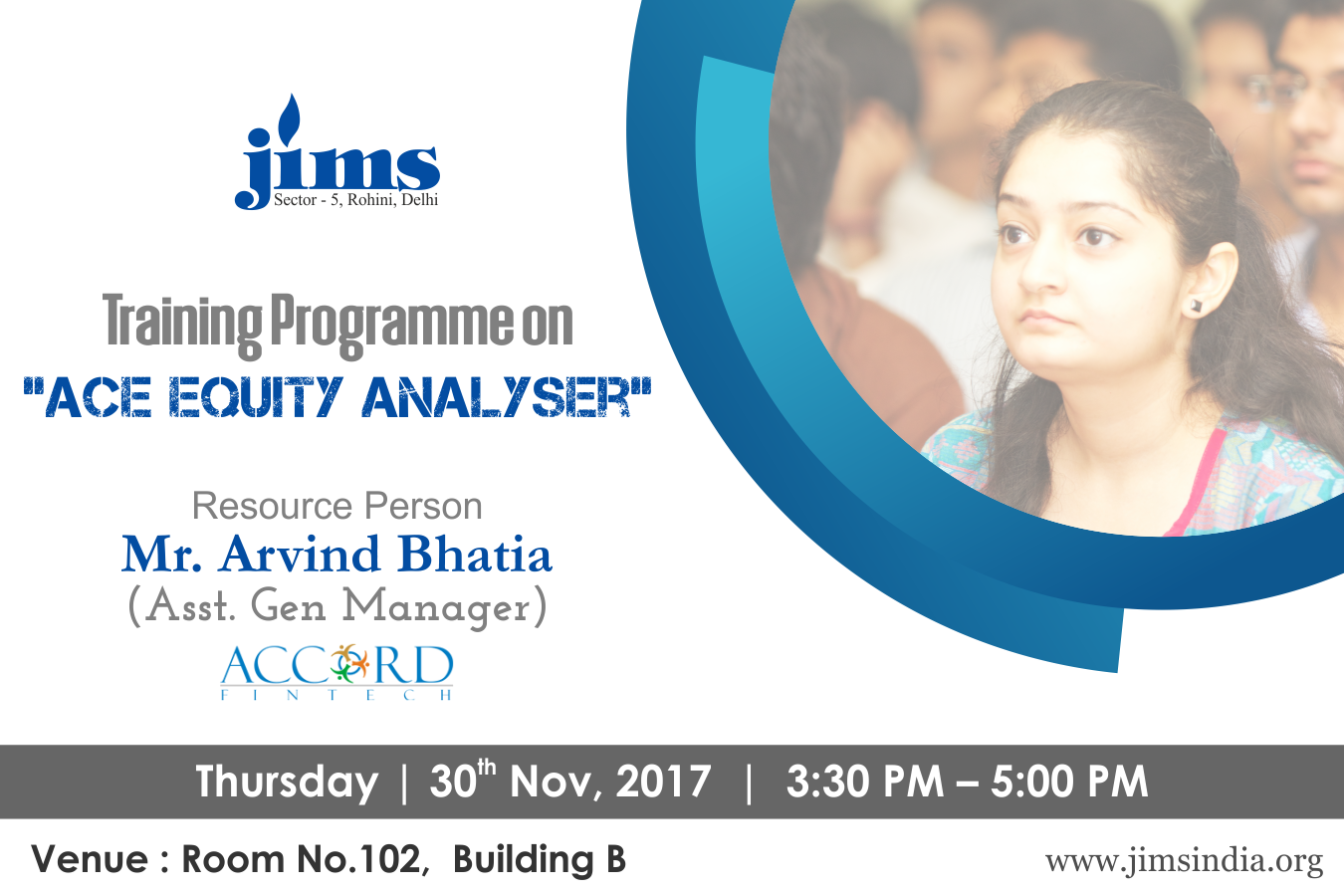 TRAINING PROGRAMME PGDM-IB on ACE Equity Analyser