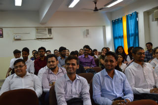 A workshop was conducted by Mr Gaurav Vashisht @ JIMS Rohini