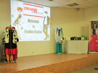 Fashion Station' organized by the JIMS Retail Club.