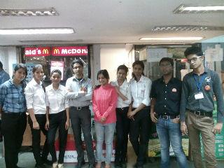 live project at Future Value Retail Ltd.