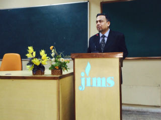 JIMS Rohini in association with ICICI StockMIND team conducted a session