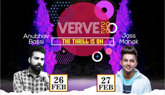 JIMS Rohini Annual Inter college techno Management cultural Fest Verve2020