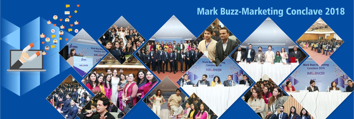 Mark Buzz-Marketing Conclave 2018 @ JIMS Rohini