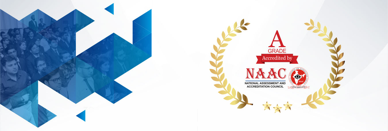 The National Assessment and Accreditation council (NAAC) has accredited JIMS at A grade.